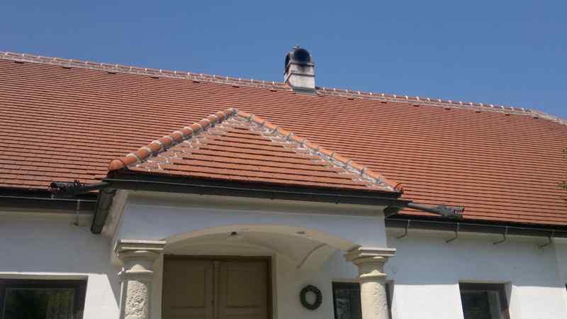 Sanierung eines Ziegel-Daches