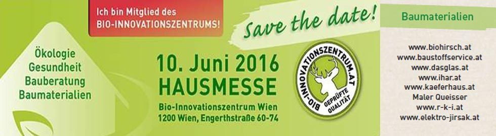 Bio-Innovationszentrum.at – Hausmesse